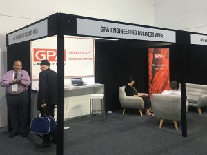 APGA conference recharge station sponsored by GPA
