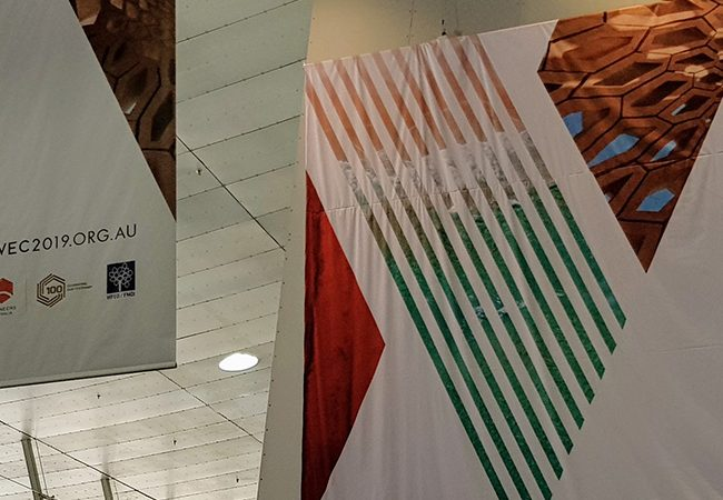 World Engineers Convention 2019 banners