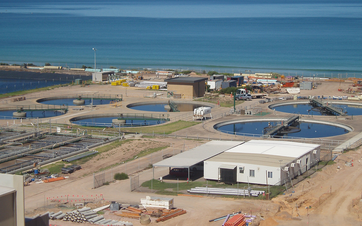 Christies Beach Water Treatment Plant