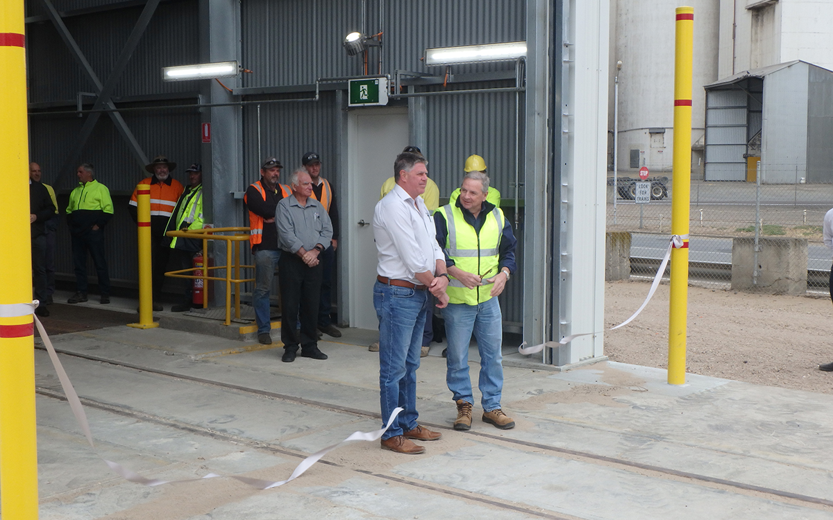 Port Lincoln Export Terminal opening ceremony