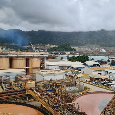 Lihir Metallurgical Plant (view from CCD area)