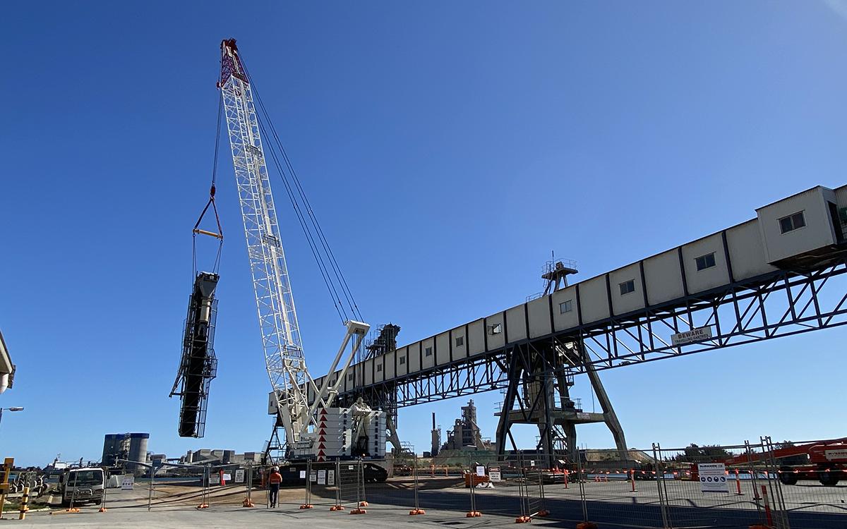 Shiploader Demolition