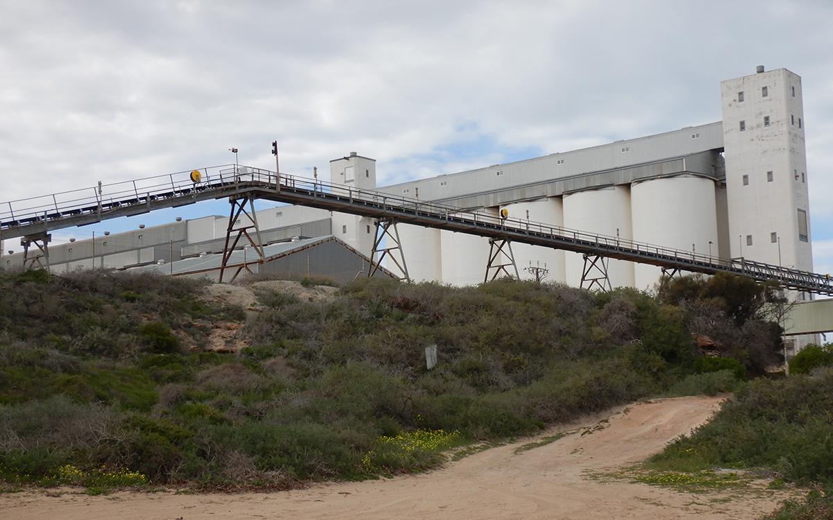 Thevenard Bulk Loading Plant